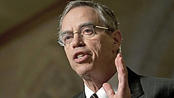 Natural Resource (now Finance) Minister Joe Oliver thinks it is environmentalists who are the radicals. Source: CBC.