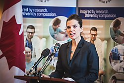 Science Minister Kirsty Duncan has argued that culture change is needed in the federal bureaucracy. (Image source)